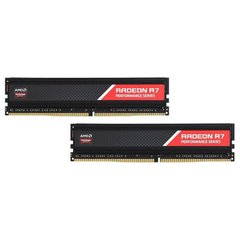Модуль памяти AMD Radeon R7 Performance DDR4 2400MHz 8GB Kit 2x4GB (R7S48G2400U1K)