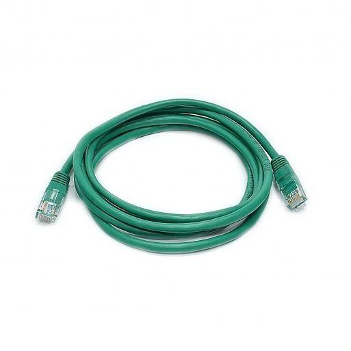 Патч-корд витая пара Патч-корд 1м Cat.5e U/UTP PVC Зеленый Premium Line  185110106 купить в Киеве по цене 36.3 грн ➦ Комтрейд