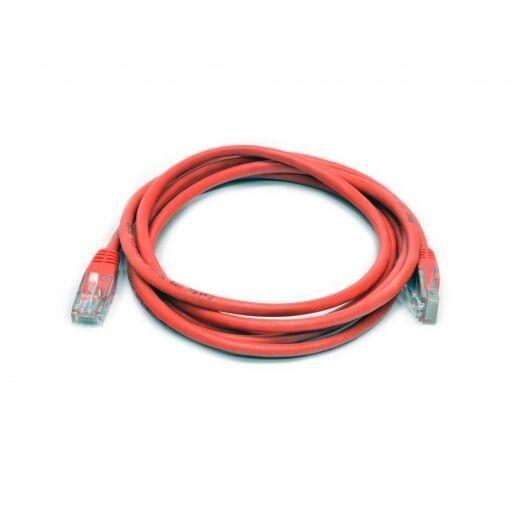Патч-корд витая пара Патч-корд 2м Cat.5e U/UTP PVC Красный Premium Line  185110203 купить в Киеве по цене 50.1 грн ➦ Комтрейд