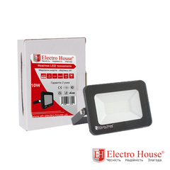 LED прожектор 10W IP65 ElectroHouse EH-LP-205