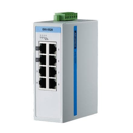Коммутатор промышленный неуправляемый Fast Ethernet IP30 Advantech EKI-5528-AE
