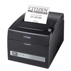Термопринтер чеков с RS-232 и USB CITIZEN CTS310IIEBK черный
