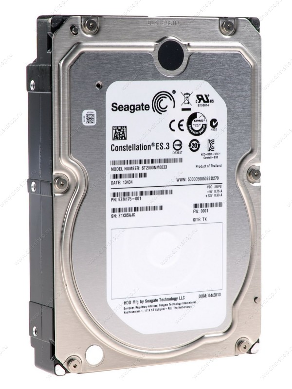 Seagate Constellation ES.3 2TB ST2000NM0033