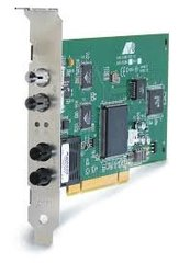 Сетевая карта PCI 2xSC 1x10/100 Base-T Allied Telesis AT-2746FX/SC/SC