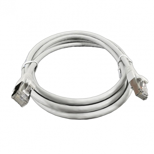Кабель RJ-45, F/FTP, 1 м, cat. 6a, LSZH, EPN CBL-G2FF1MX